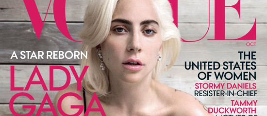 Lady Gaga pour Vogue