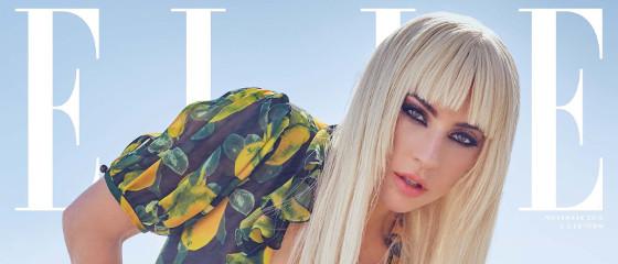 Lady Gaga pour Elle US