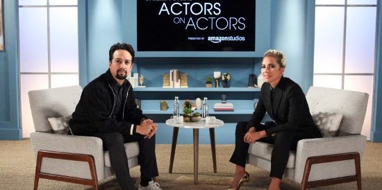 Lady Gaga dans « Actors on Actors »