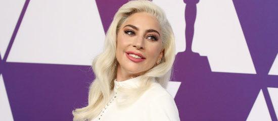 Lady Gaga au dîner pré-Oscars
