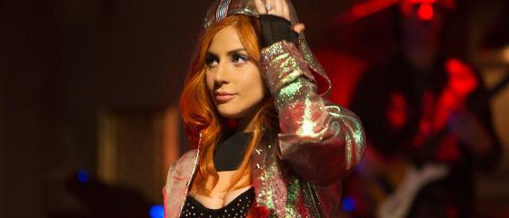 Lady Gaga sur le tournage de ASIB