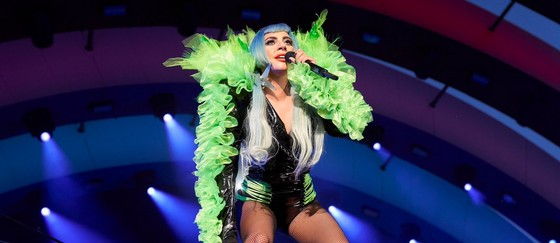 Lady Gaga en concert à l'Apple Park