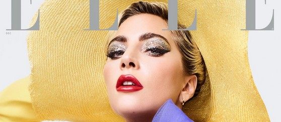 Lady Gaga en couverture de ELLE US
