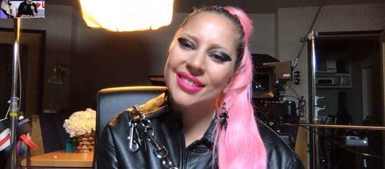 Lady Gaga en FaceTime sur NRJ !