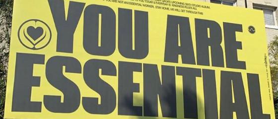 «Vous êtes essentiel» – un message de Lady Gaga