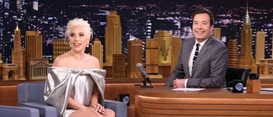 Interview : Lady Gaga chez Jimmy Fallon