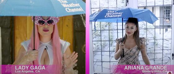 Lady Gaga et Ariana Grande – Météo de Chromatica