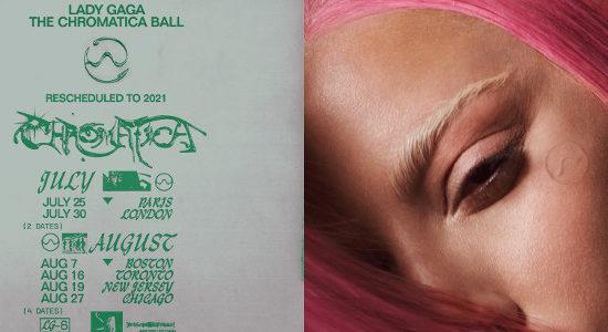 Le Chromatica Ball repoussé en 2021
