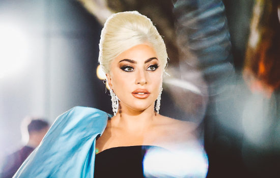 Lady Gaga au gala de l'Academy Museum of Motion Pictures
